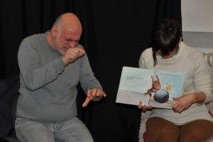 Heure du conte en langue des signes